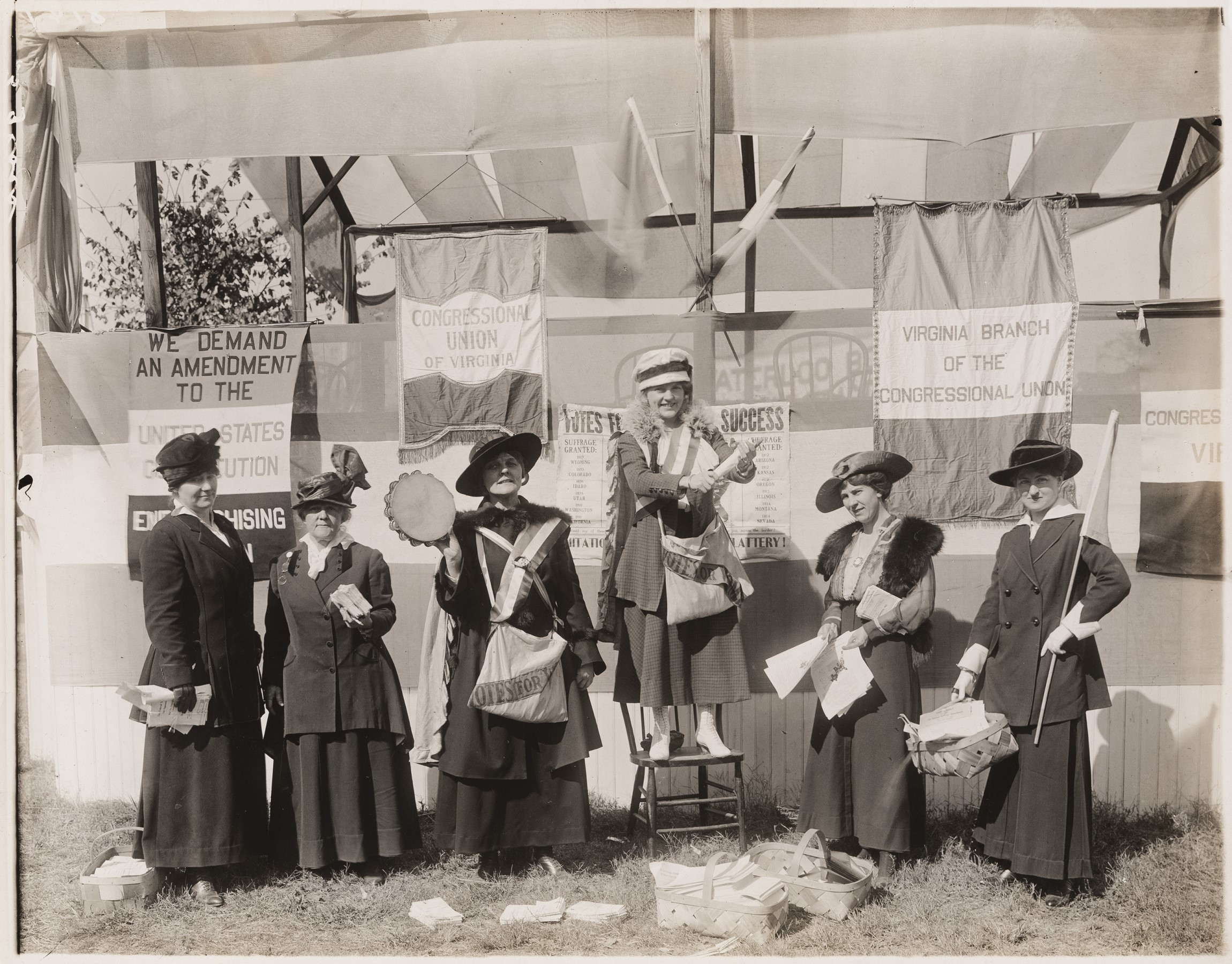 Celebrate the 19th Amendment at the Library of Virginia!
