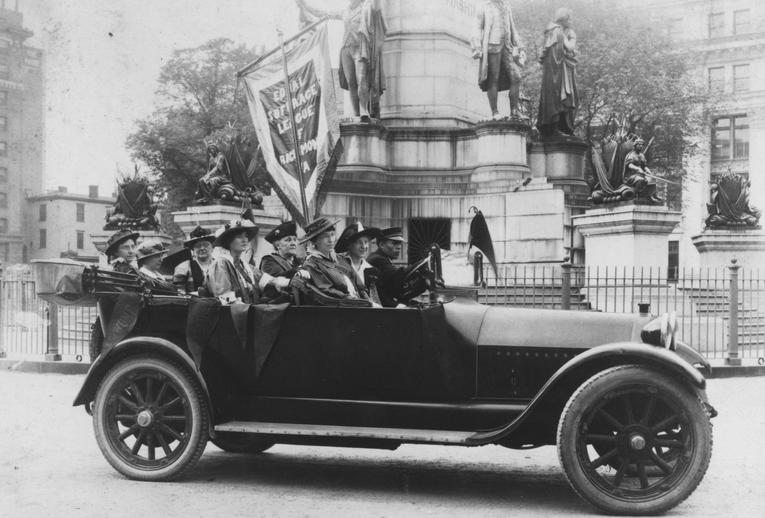 """Secure the Suffrage for Women on Equal Terms with Men"" : The Equal Suffrage League of Virginia"