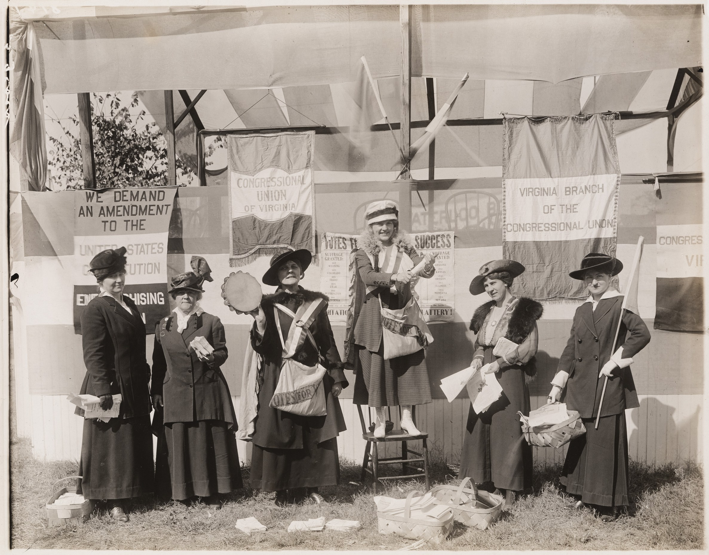 """""""Freedom, justice and true democracy"""": The Virginia Branch of the Congressional Union for Woman Suffrage"""