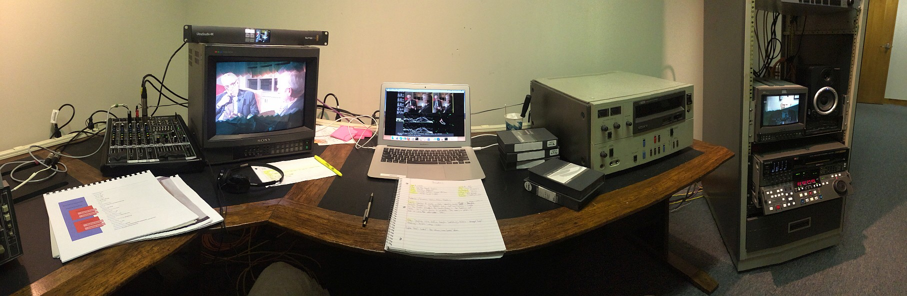Transferring Knowledge: An Audio-Visual Digitization Internship