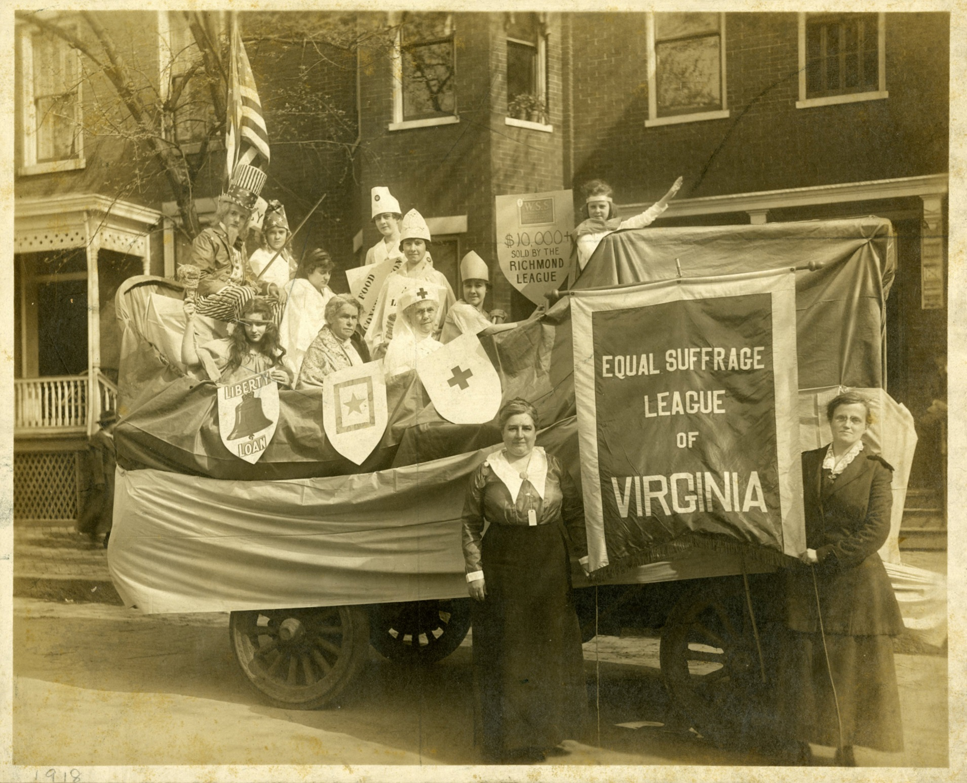 """""""When Victory Really Came"""" : Virginia Women Who Fought for the Vote"""