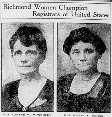 """""""Really and truly a citizen"""": Virginia Women Register to Vote in 1920"""