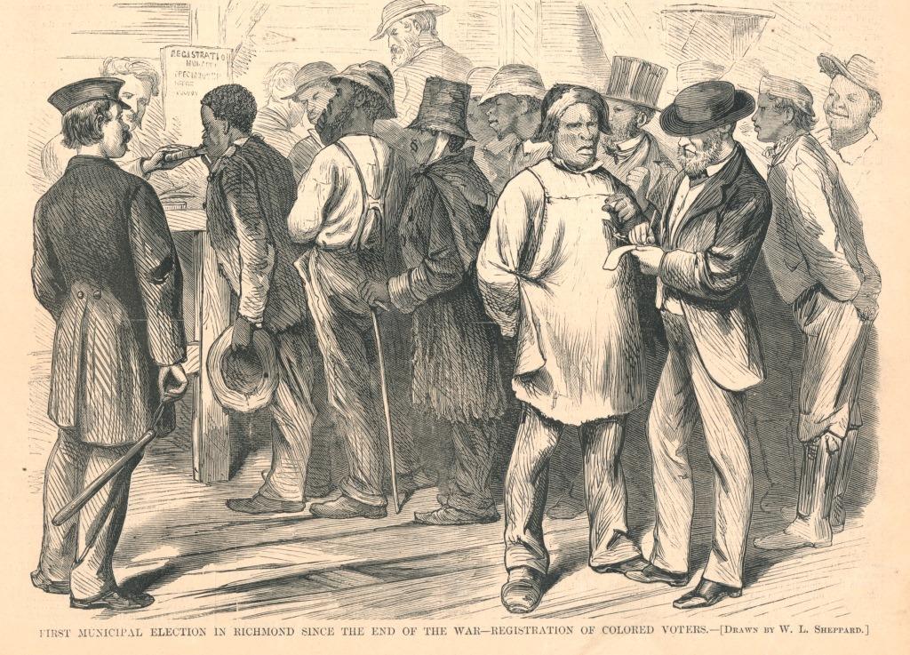 """On Account of Race"": Disenfranchisement of Black Voters in Virginia"