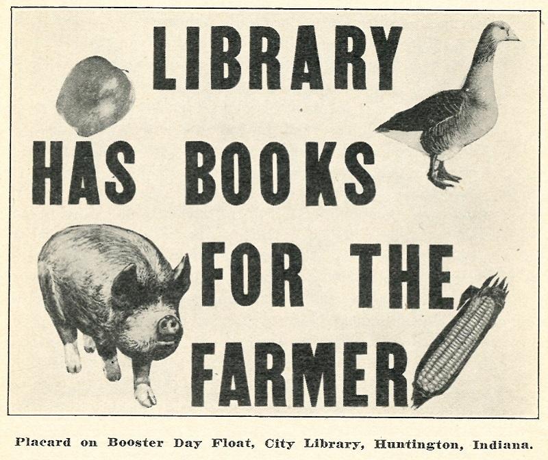 library advertisement